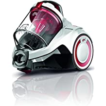 Dirt Devil DD2225-0 Rebel 25 HE Aspirateur sans Sac Cyclonique Blanc/Rouge