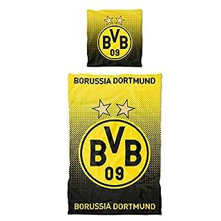 Borussia Dortmund BVB-Bettwäsche Punkteverlauf (135 x 200 cm) one Size