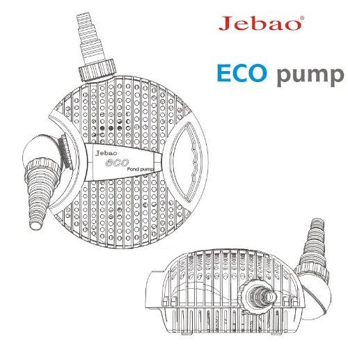 Jebao Teichpumpe Eco ATP10000 Liter Pumpe ECO-Technologie 10000 l/h -