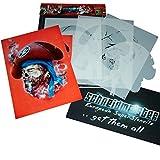 SCHNEIDMEISTER Airbrush Schablone Pirat MIT BART, Textilschablone, ca. A4, SM-HBPH03