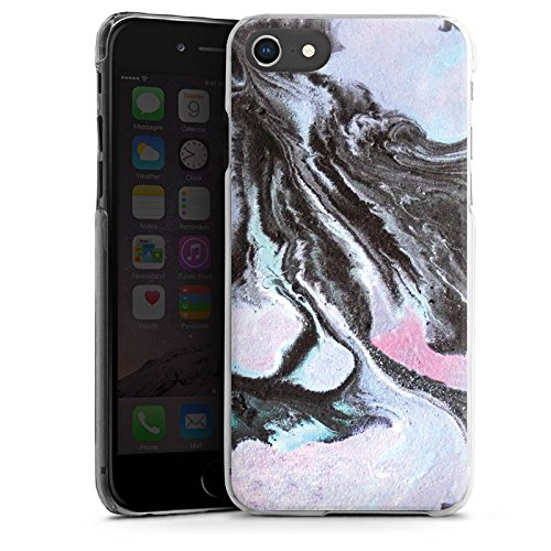 Apple iPhone 6 Silikon Hülle Case Schutzhülle Grunge Muster Perlmutt Hard Case transparent