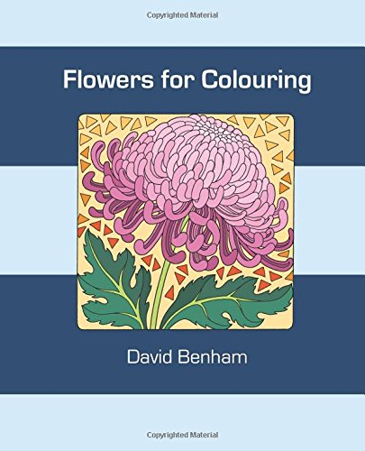 Flowers for Colouring