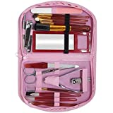 Kabello Manicure And Pedicure Kit With Tools, Manicure And Pedicure Kit For Women And Girls, Pink, Pack Of 1