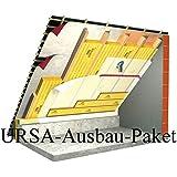 Ausbau-Paket 160mm 70m² WLG 035 Klemmfilz Dämmung Mineralwolle Komplett-Set