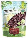 Bio dunkelrote Kidneybohnen durch Food to Live (Non-GMO, Koscher, roh, trocken Samen, Bulk) - 3 Pfund