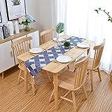 FeiFei156 Bandiera da Tavolo in Stile Cinese Stile Minimalista tavolino Classico Bandiera Tavolo Tessuto di Cotone (Size : 33 * 200)