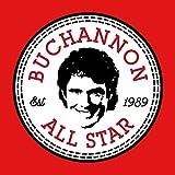 Hasselhoff Baywatch Buchannon All Star Converse Logo Men's T-Shirt