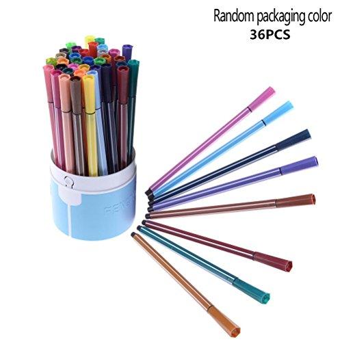 yooe Aquarell Pinsel Stifte Set, 36Farben Pinsel Stifte mit Tip Art Marker Stifte-Set...