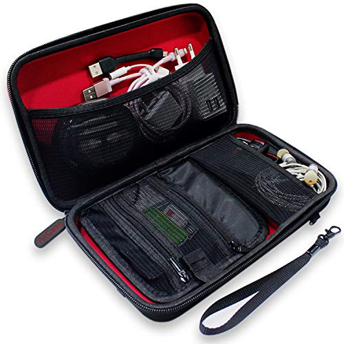 Aircase AP-GDO-109 Gadget Travel Organizer Bag (Red)