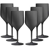TUNDRA ICE INTERNATIONAL 6 pièces Croisiere 25 cl en polycarbonate (plastique rigide), verres à vin 100% Italian Design…