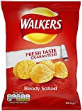 Walkers Ready Salted Crisps 32.5 g (Pack of 32)