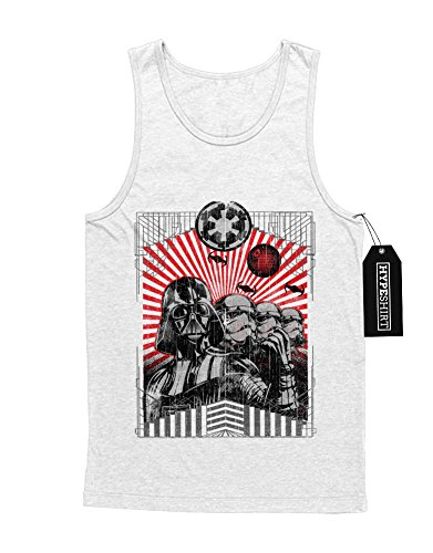 Tank-Top Storm Trooper Darth Vader Make The Death Star Great Again Imperial C140015 Weiß