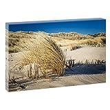Strand mit Seegras | Panoramabild im XXL Format |