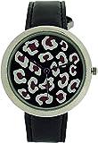 ZAZA London LLB851 black - Reloj para mujeres, correa de cuero color negro