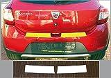 passgenau für Dacia Sandero Stepway, ab 2012; Lackschutzfolie Ladekantenschutz transparent