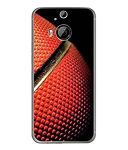 PrintVisa Designer Back Case Cover for HTC One M9 Plus :: HTC One M9+ :: HTC One M9+ Supreme Camera (Red Coloured Ball Design)