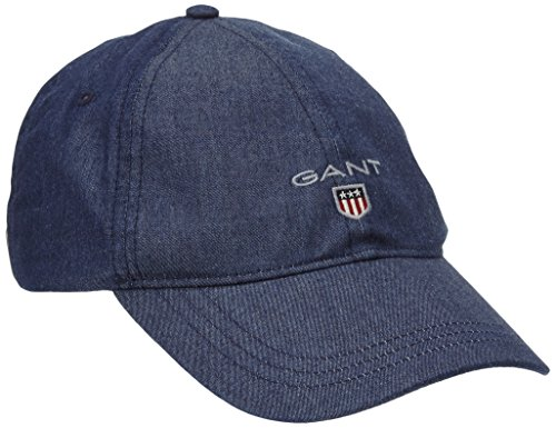 GANT Herren Baseball Cap 90606, Gr. One size, Blau (DARK INDIGO 989)