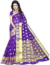 Indian Fashionista Silk Saree With Blouse Piece (NRPT1105E_Multi_Free Size)