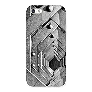 Premium Cage Hexa Back Case Cover for iPhone SE