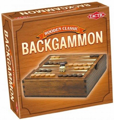 Tactic Backgammon Strategy board game - Juego de tablero (Children & Adults, Niño/niña, DUT, Interior, Strategy board game)