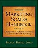 Marketing Scales Handbook: Consumer Behavior (Marketing Scales Series)
