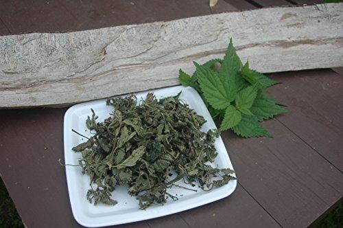 Naturix24 – Brennnesseltee, Brennesselblätter ganz – 100 g Beutel