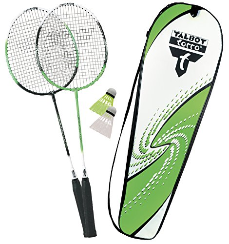 Talbot-Torro Badminton-Set 2-Attacker, Federballset, 449511 (2-ball-kopf)