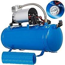 Moracle Compresor de Aire 12V 6L Compresor de Aire para Automóvil Mini Compresor de Aire Bomba