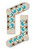 Happy Socks Hummingbird Sock (White) 41-46