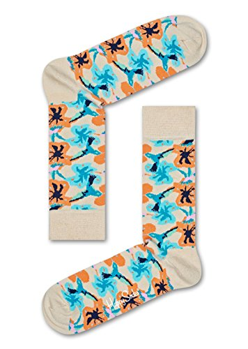Happy Socks Hummingbird Sock (White) 36-40