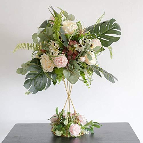 VNKLUCF Wald Hochzeit schmiedeeisen haupttisch Blume hochzeitsarrangement Requisiten bühne straßenführer Blume Ball künstliche Blume 1 Satz - Schmiedeeisen Ball