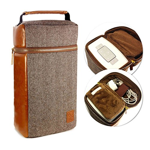 tuff-luv-herringbone-tweed-nfc-travel-case-for-bose-soundtouch-10-brown
