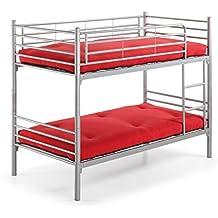 Litera metálica convertible en 2 camas- Camas de 90 x 190 cm. - Selección Cabana
