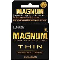 Trojan Magnum Dünne, große Kondome mit UltraSmooth Gleitmittel, 3 Stück preisvergleich bei billige-tabletten.eu