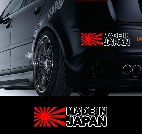 made-in-japanmotiv-2-mit-der-aufschrift-x1-rot-aufkleber-weiss