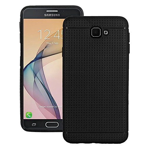 RTCO™ Stylish Dotted Designed Soft Rubberised Back Case Cover For Samsung Galaxy A5 2016 Free Tempered Glass Screen Protector  available at amazon for Rs.220