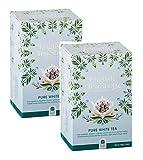 English Tea Shop White Tea Organic / Té Bianco Biologico Premiata Collezione di Té Raccolti a Mano dallo Sri Lanka - 2 x 20 Sachets (80 Gram)