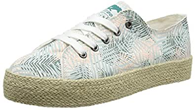 Rocket Dog Damen Jumpin Sneaker, Blau (Light Blue), 37 EU