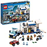 LEGO City - Le poste de commandement mobile - 60139 - Jeu de Construction...