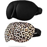 CONISY Schlafmaske Damen 3D Konturierte Weich Bequem Sleeping eye mask Für frauen und Herren - 2 Pack augenmaske... preisvergleich bei billige-tabletten.eu
