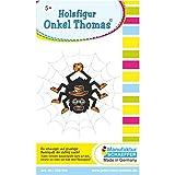 Holzfigur Onkel Thomas© eine charmante Spinne zum Basteln. EIN kinderleichtes und komplettes Holzbastelset ♥ mit Erfolgsgarantie! Das Basteln Dieser schaurigen Bastelidee kann sofort beginnen.