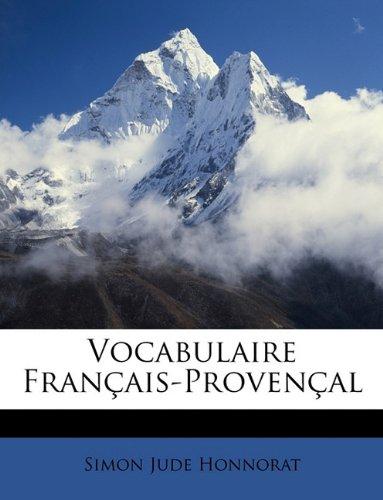 Vocabulaire Français-Provençal