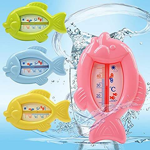 dairyshop Baby Badewanne Thermometer, Sicherheit Floating Fish Design Messen Wassertemperatur neuen...