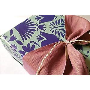 Geschenkpapier Vögel blau von KAKADU - paper and goods / 3 Bögen/blau und türkis, Geschenk, einpacken, Papier, verschönern, Vogel, Hochzeit, Geburtstag, Valentinstag, Weihnachten, Blume, Blüte ...