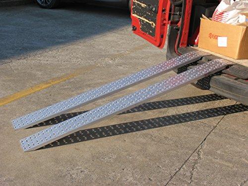 Auffahrschienen ohne Rand - Gerade (1485mm lang x 200mm breit x 600kg Kapazität)
