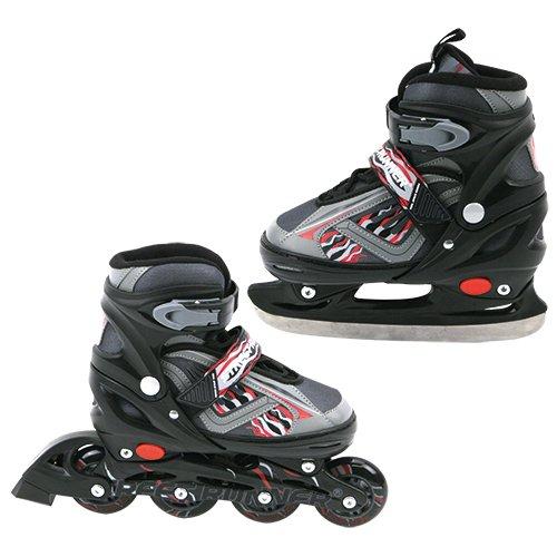 Speelgoed YX-0158 (2in1) BL 35 - Skate Inline / Schlittschuh 35-38