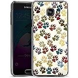 Samsung Galaxy A3 (2016) Housse Étui Protection Coque Pattes Chien Animaux