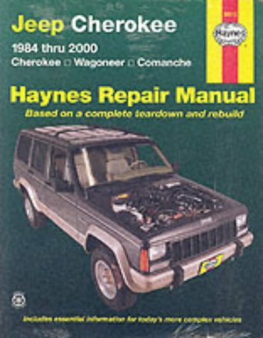 Jeep Cherokee, Wagoneer and Comanche Automotive Repair Manual: 1984-2000 (Haynes Automotive Repair Manuals) by Bob Henderson (13-Jun-2001) Paperback (2000 Haynes Cherokee Jeep)