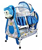 Baby Crib and Cradle with teddy face wit...