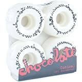 Chocolate Checkered Conical Stout Pro Skateboard Wheels 52mm